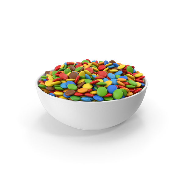 Sweets Chocolate Candy In Bowl PNG & PSD Images