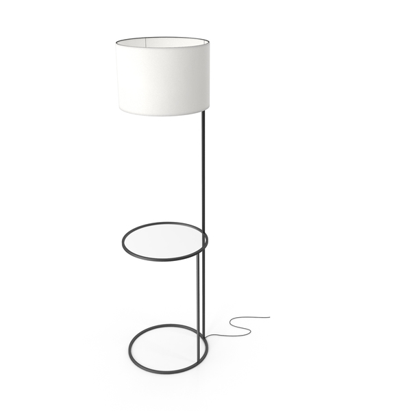 Swift Floor Lamp White & Black PNG & PSD Images