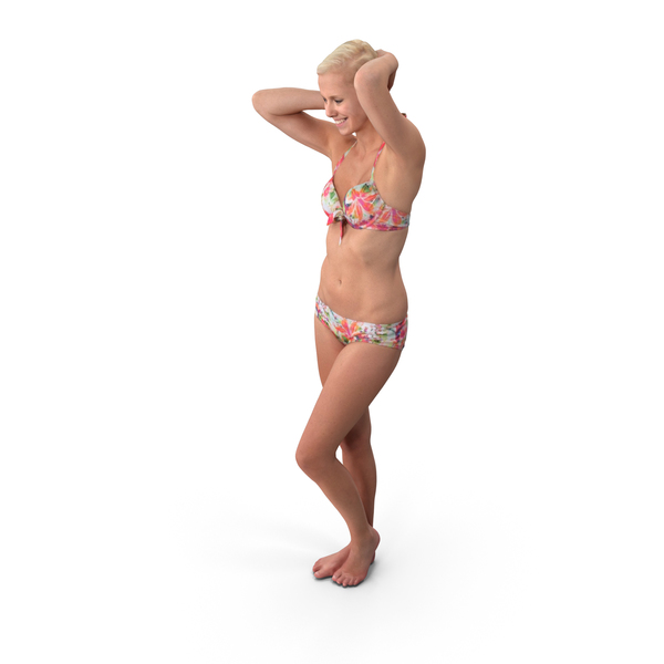 Swimsuit Woman Posed PNG & PSD Images
