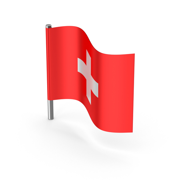 Switzerland Cartoon Flag PNG & PSD Images