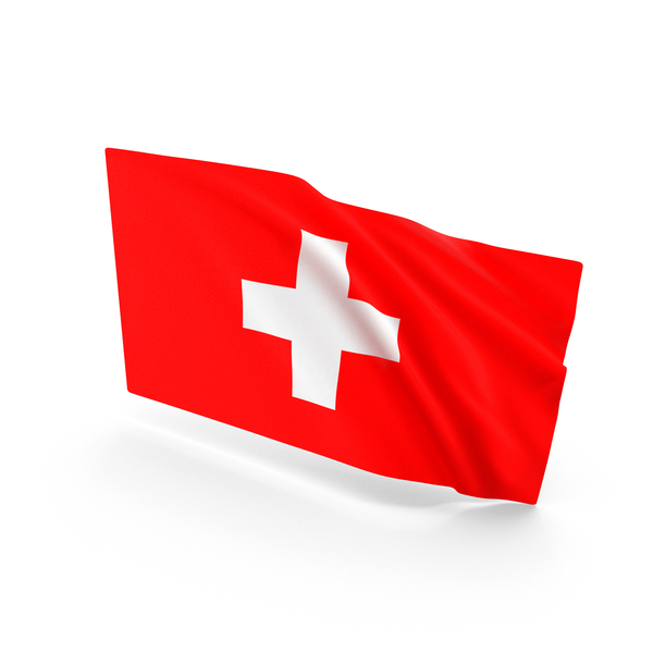 Switzerland Waving Flag PNG & PSD Images