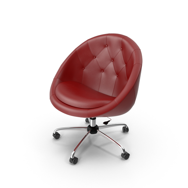 Swiver Chair Red PNG & PSD Images