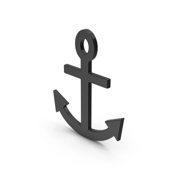 Symbol Anchor Black PNG & PSD Images