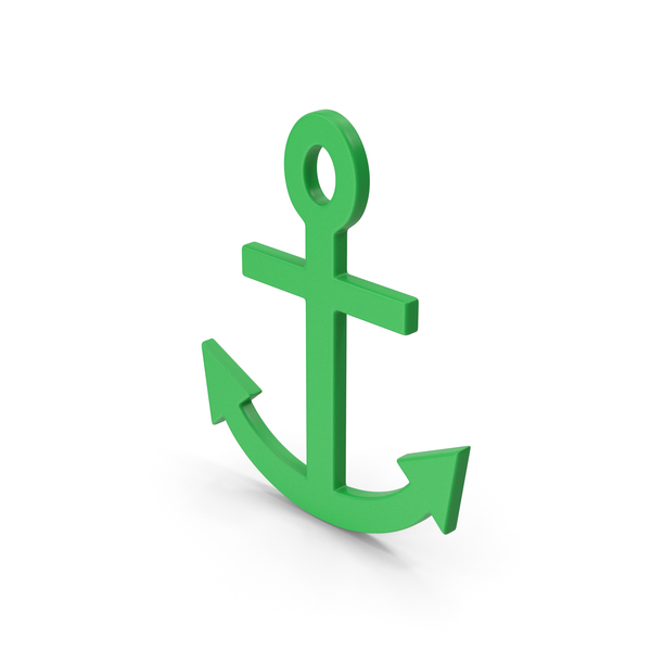 Symbol Anchor Green PNG & PSD Images