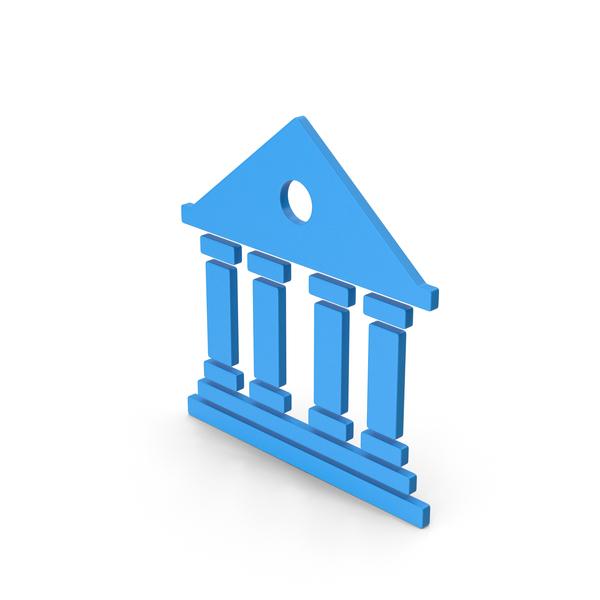 Logo: Symbol Architecture / Building Blue PNG & PSD Images