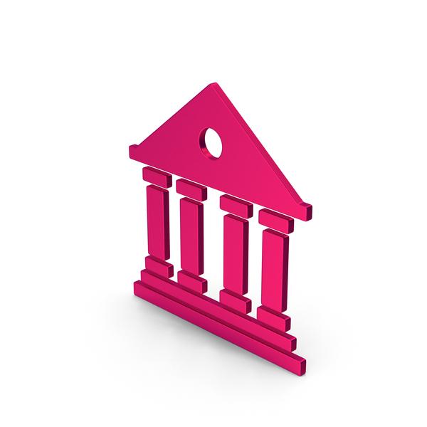 Logo: Symbol Architecture / Building Metallic PNG & PSD Images