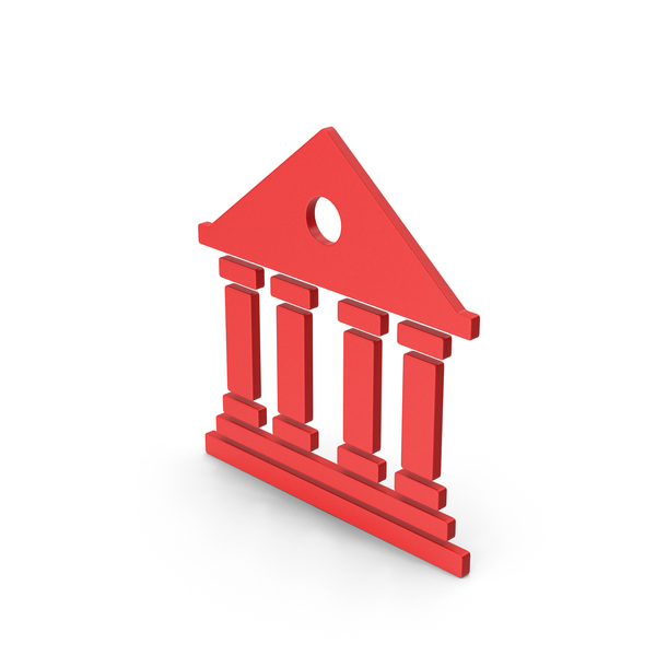 Logo: Symbol Architecture / Building Red PNG & PSD Images