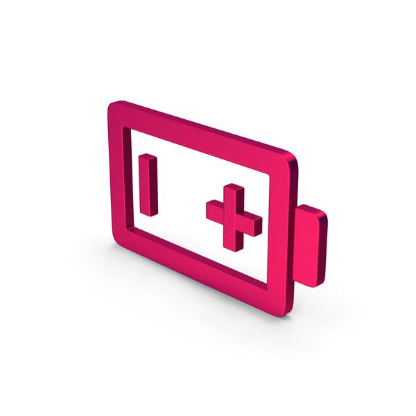 Logo: Symbol Battery Metallic PNG & PSD Images