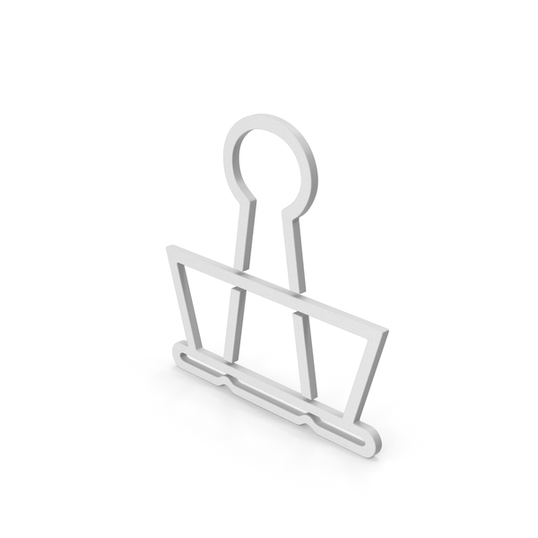 Clips: Symbol Binder Clip PNG & PSD Images