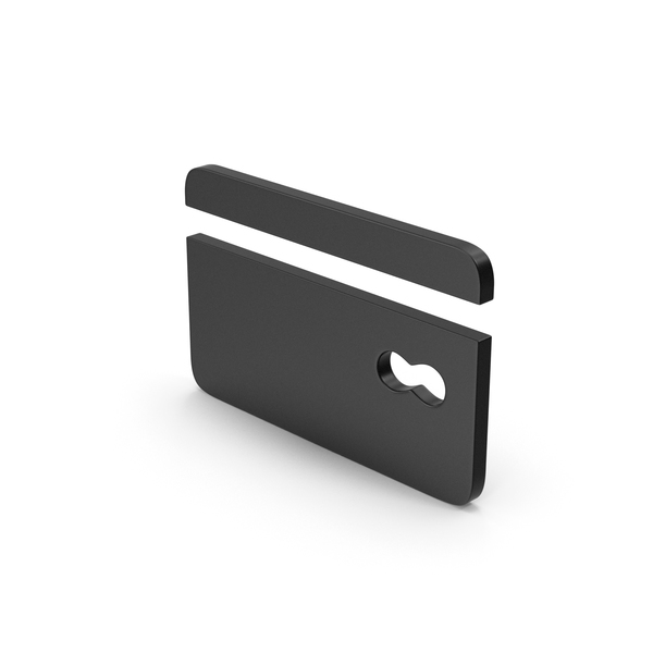 Symbol Black Bank Card PNG & PSD Images