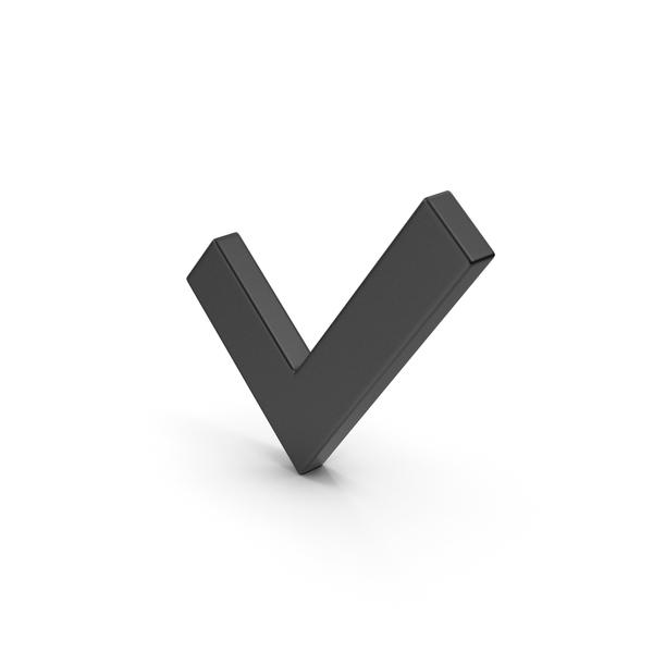 Symbol Black Check Mark PNG & PSD Images
