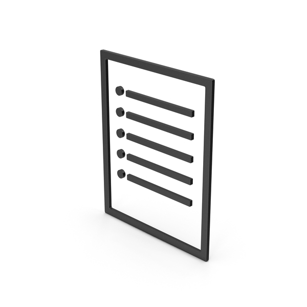 Symbol Black Paper Note PNG & PSD Images