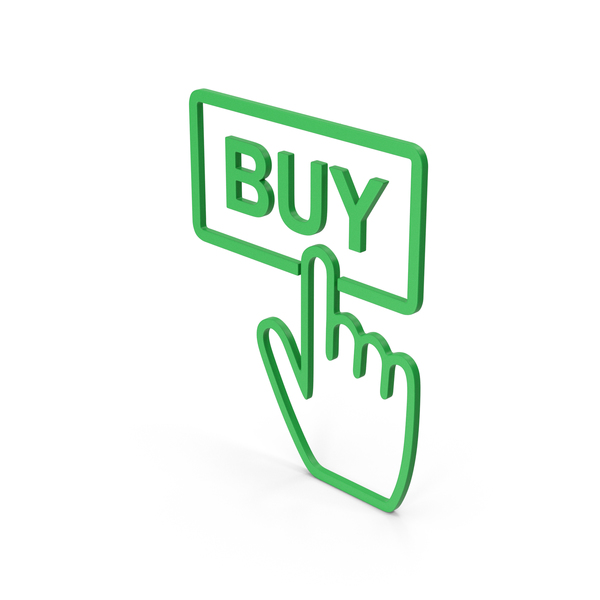 Logo: Symbol Buy Button Green PNG & PSD Images