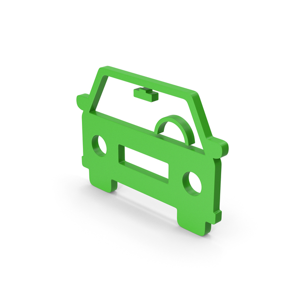 Computer Icon: Symbol Car Green PNG & PSD Images
