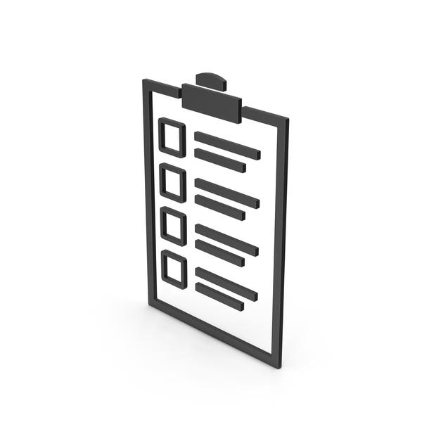 Check Mark: Symbol Checklist Black PNG & PSD Images