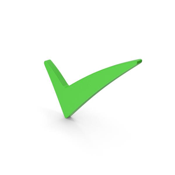Symbols: Symbol Checkmark Green PNG & PSD Images