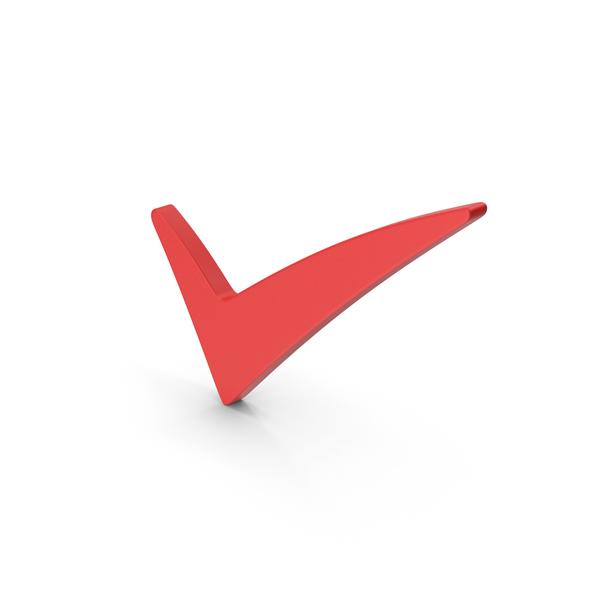 Logo: Symbol Checkmark Red PNG & PSD Images