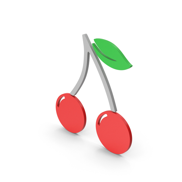 Logo: Symbol Cherries Colored PNG & PSD Images