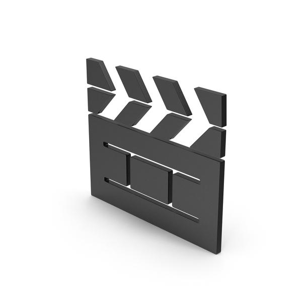 Computer Icon: Symbol Cinema Movie Black PNG & PSD Images