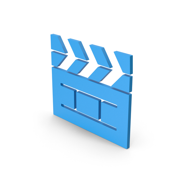 Computer Icon: Symbol Cinema Movie Blue PNG & PSD Images