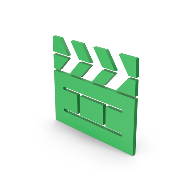 Computer Icon: Symbol Cinema Movie Green PNG & PSD Images