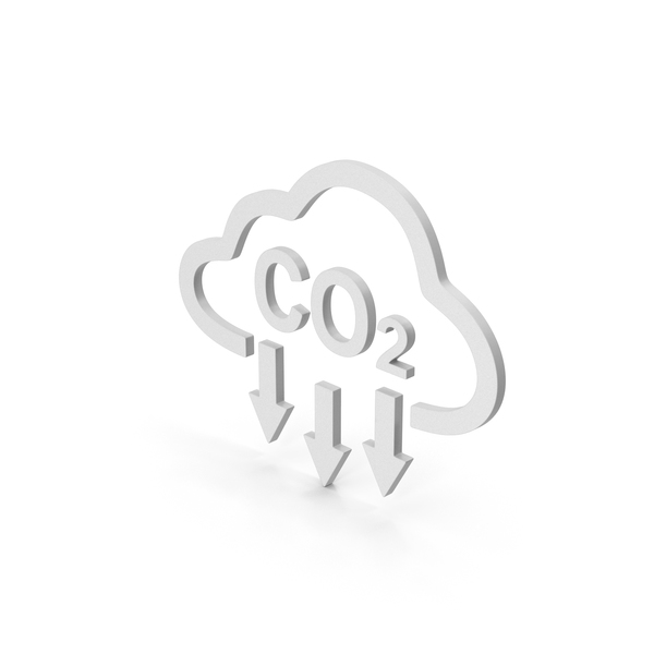 Computer Icon: Symbol Cloud Co2 PNG & PSD Images