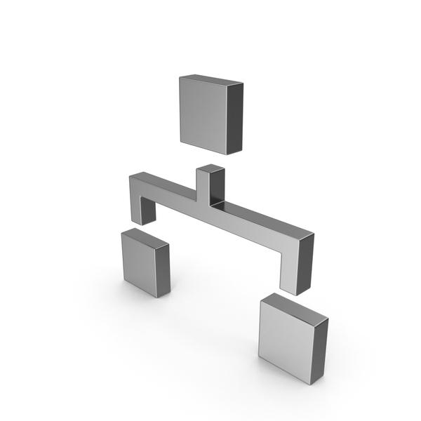 Symbols: Symbol Computer Network Steel PNG & PSD Images