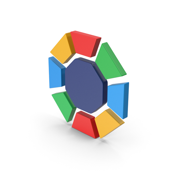 Logo: Symbol Diamond / Octagon Multicolored PNG & PSD Images