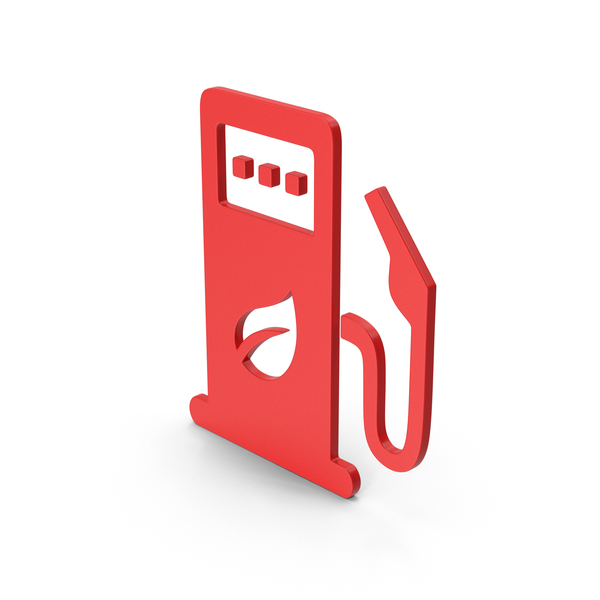 Computer Icon: Symbol Eco Station Red PNG & PSD Images