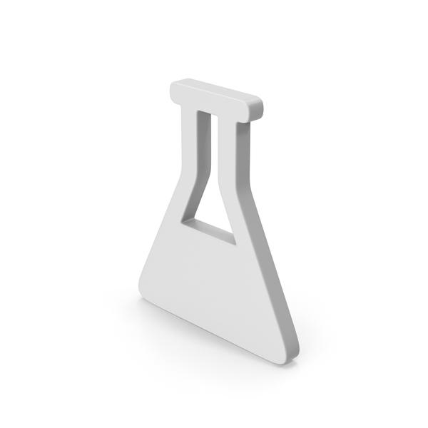 Beaker: Symbol Erlenmeyer Flask with Liquid PNG & PSD Images