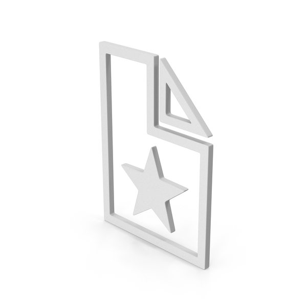 Computer Icon: Symbol Favorite File PNG & PSD Images