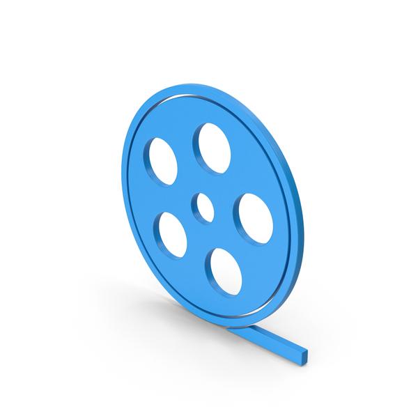 Reel: Symbol Film Roll Blue PNG & PSD Images