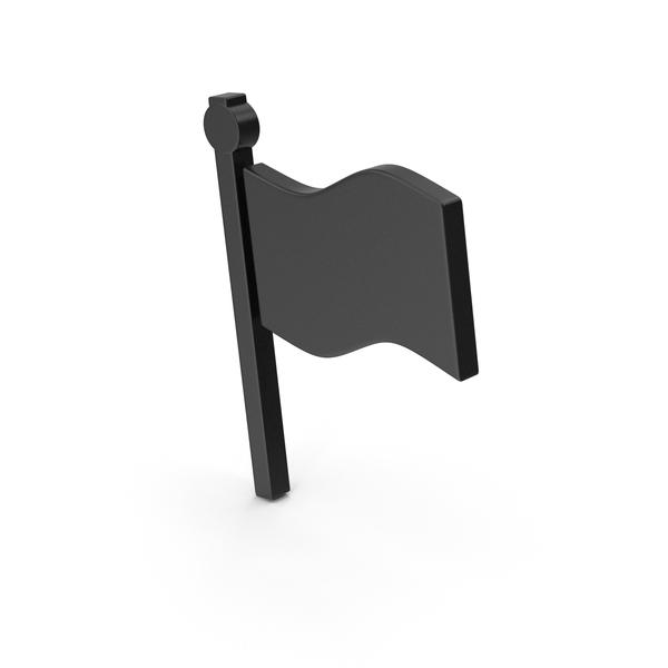 Symbol Flag Black PNG & PSD Images