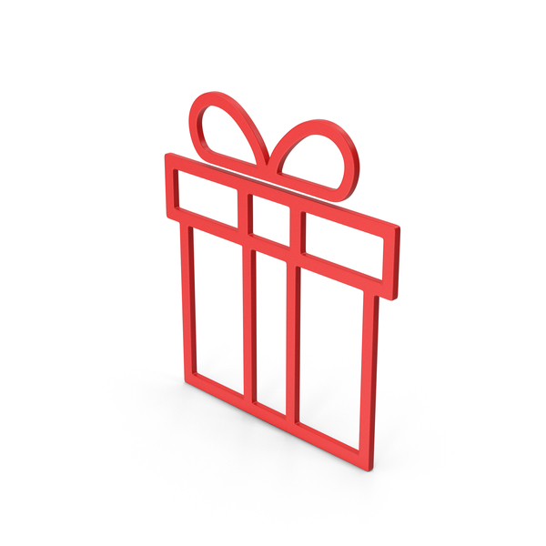 Computer Icon: Symbol Gift Red PNG & PSD Images