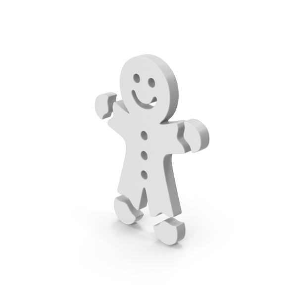 Symbol Gingerbread Man PNG & PSD Images