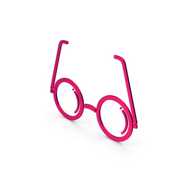 Logo: Symbol Glasses Metallic PNG & PSD Images