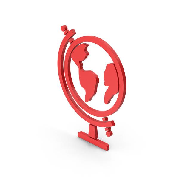 Logo: Symbol Globe Red PNG & PSD Images