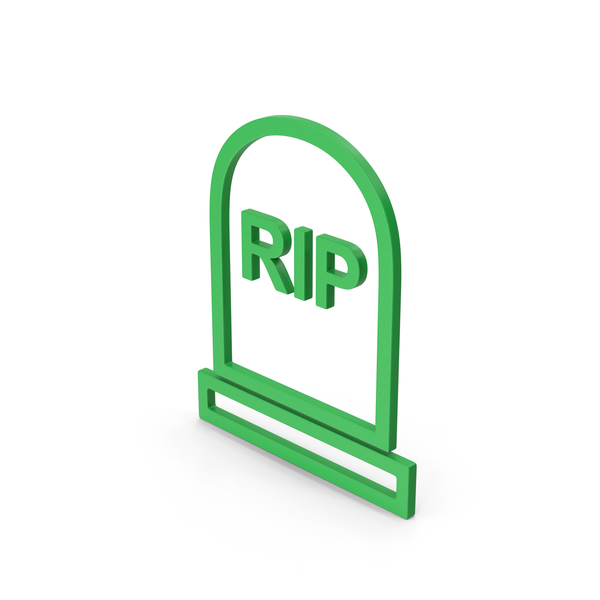Cross: Symbol Grave Rip Green PNG & PSD Images