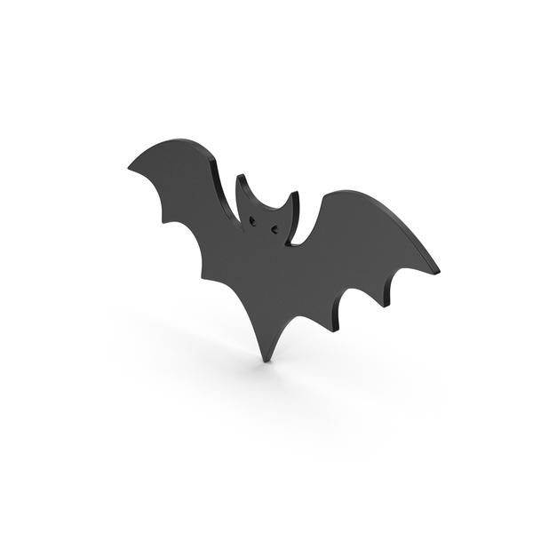 Cartoon: Symbol Halloween Bat Black PNG & PSD Images