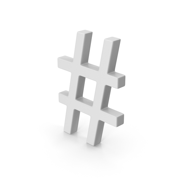 Symbol Hashtag PNG & PSD Images