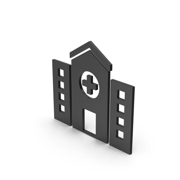 Symbols: Symbol Hospital Black PNG & PSD Images