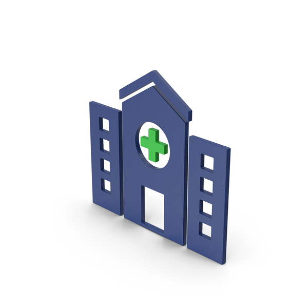 Computer Icon: Symbol Hospital Colored PNG & PSD Images
