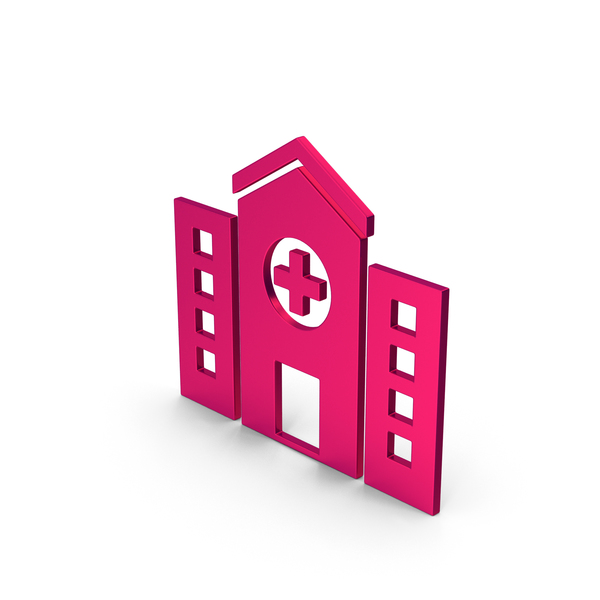 Computer Icon: Symbol Hospital Metallic PNG & PSD Images