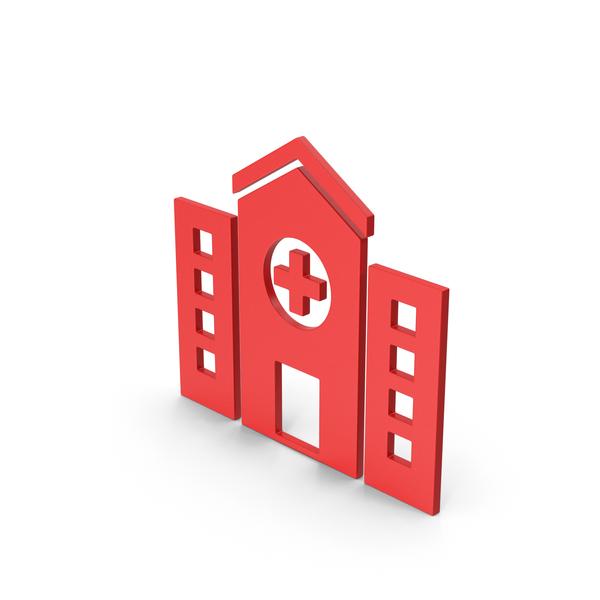 Symbols: Symbol Hospital Red PNG & PSD Images
