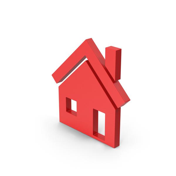 Symbols: Symbol House Red PNG & PSD Images