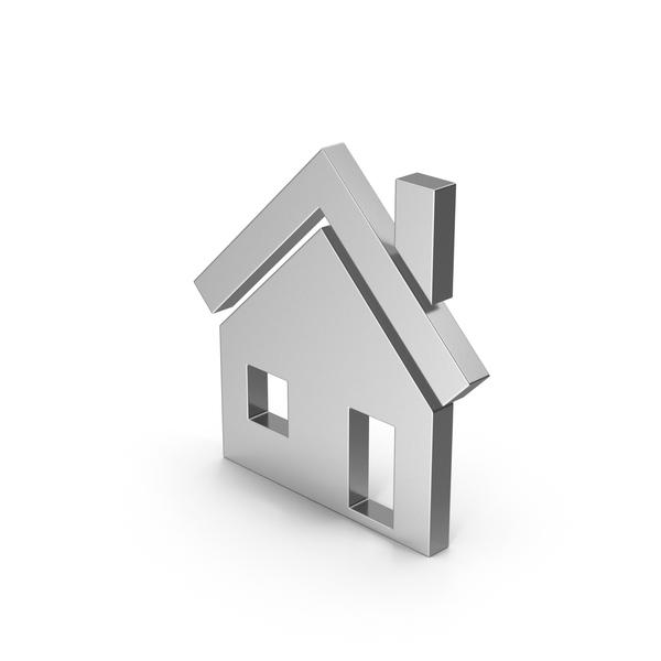 Symbols: Symbol House Silver PNG & PSD Images