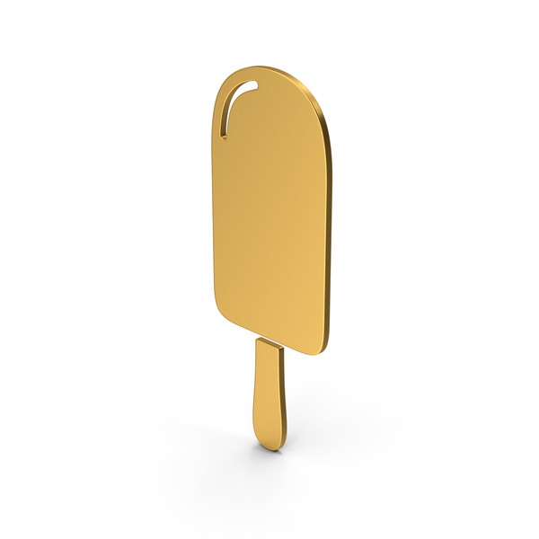 Computer Icon: Symbol Ice Cream Gold PNG & PSD Images