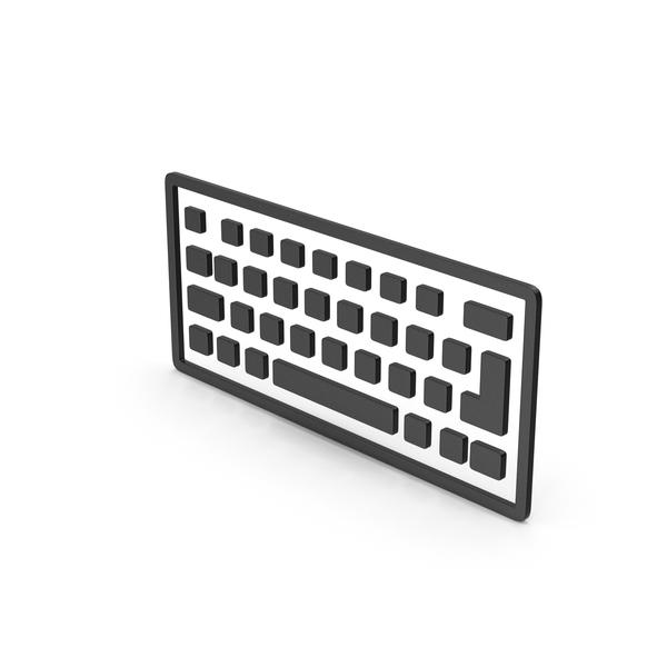Computer: Symbol Keyboard Black PNG & PSD Images