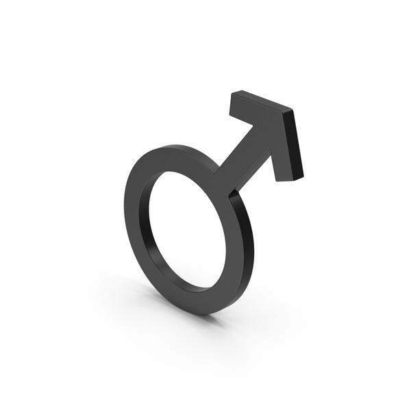Symbol Male Black PNG & PSD Images