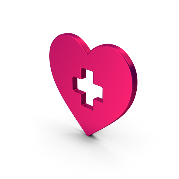 Computer Icon: Symbol Medical Heart Metallic PNG & PSD Images